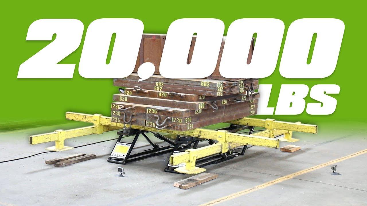 Quickjack Bl 5000slx Portable Car Hoist 2 268 Kg Capacity