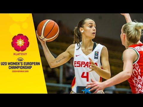 Spain v Belarus - Full Game - FIBA U20 Women's European Championship 2019