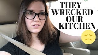 THEY WRECKED OUR KITCHEN | AMWF FAMILY Video