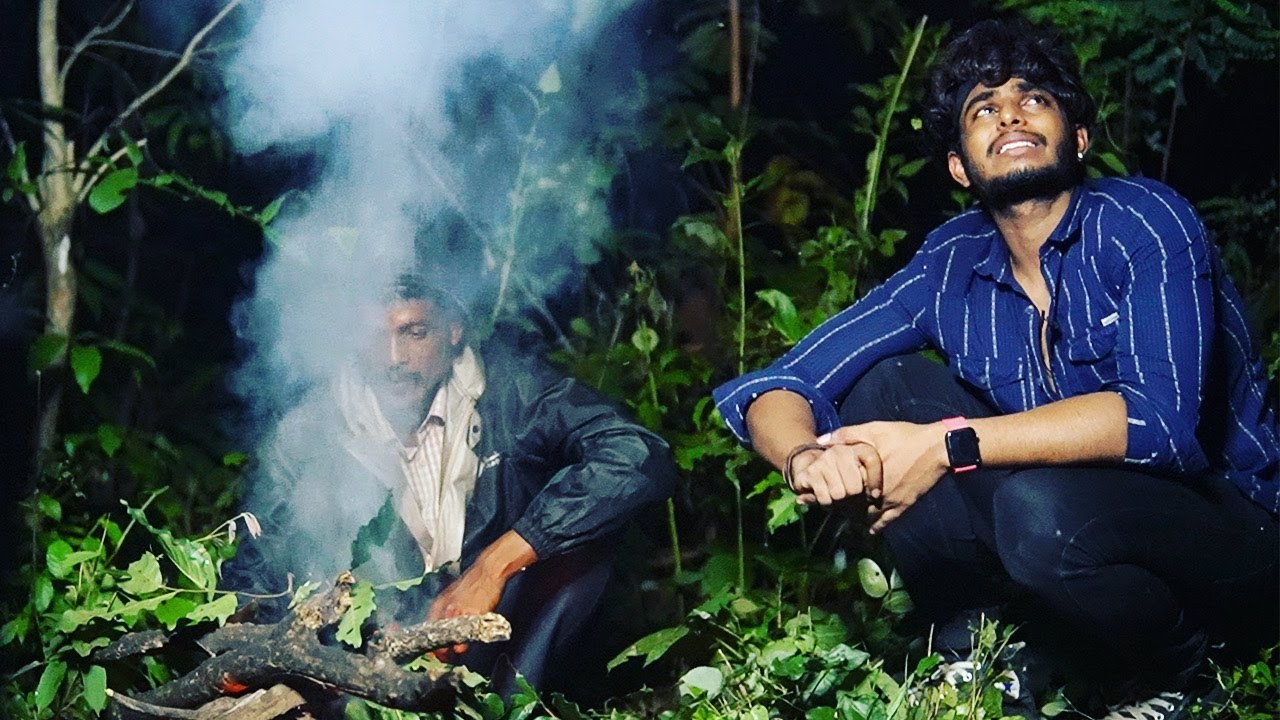 inside India's DANGEROUS FOREST for a whole night (gone wrong)