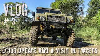 LC05 Update and a visit to Tweed to see the landrover 109 | ALLOFFROAD VLOG #3
