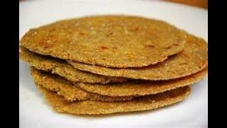 Grain Free Spicy Flax Seed Tortillas