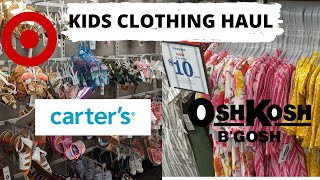 KIDS CLOTHING HAUL 2020    TARGET, CARTERS AND MORE!    FIRST COLLAB screenshot 4