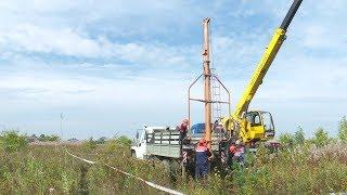 В микрорайоне «Юго-Западный» в Верхней Салде монтируют линию электроснабжения