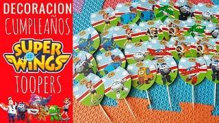 SUPER WINGS BIRTHDAY PARTY IDEAS - IDEAS PARA DECORAR CUMPLEAÑOS DE LOS SUPER WINGS
