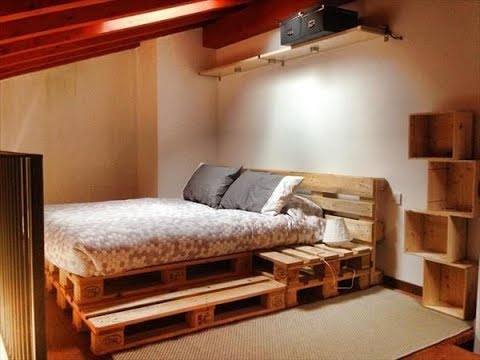 wood pallet bed frame - Wood Pallet Bed Frame
