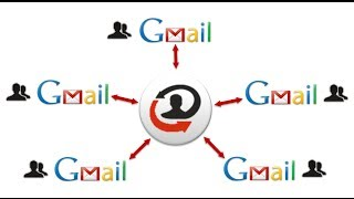 Sync mutiple Gmail accounts - Contacts / Address book