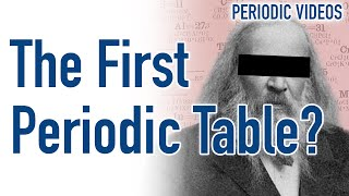 Who REALLY invented the periodic table?