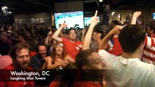 Washington, DC reacts to USA goals vs. Portugal