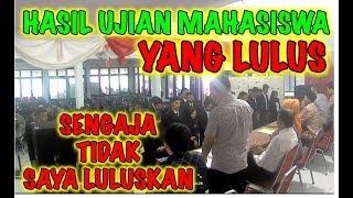 TERHARU!!!MAHASISWI CANTIK INI MENGANGIS KARENA TIDAK LULUS TAPI....