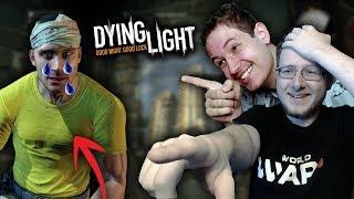 ŚMIEJEMY SIĘ Z DEPRESJI SZEFA WIEŻY BRECKENA w Dying Light z Eybim