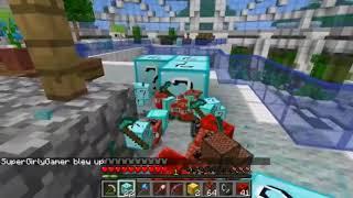 PopularMMOs Minecraft ~ DANTDM LAB HUNGER GAMES ~ Lucky Block Mod ~ Modded Mini~Game