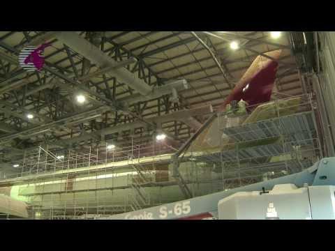 Qatar Airways - oneworld livery on Boeing 777 (A7-BAA)