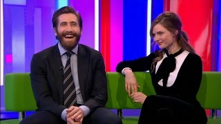 LIFE 2017 movie  Jake Gyllenhaal & Rebecca Ferguson  Interview