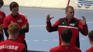 Handball-Nati bereitet sich in Schaffhausen auf schwierige EM-Qualifikation vor (TELE TOP)