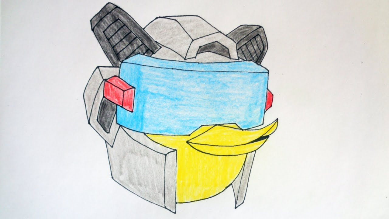 How To Draw Angry Birds Transformers Jazz