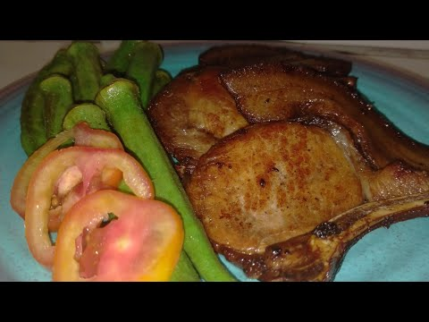 How to cook Pork Chops/ Easy recipe