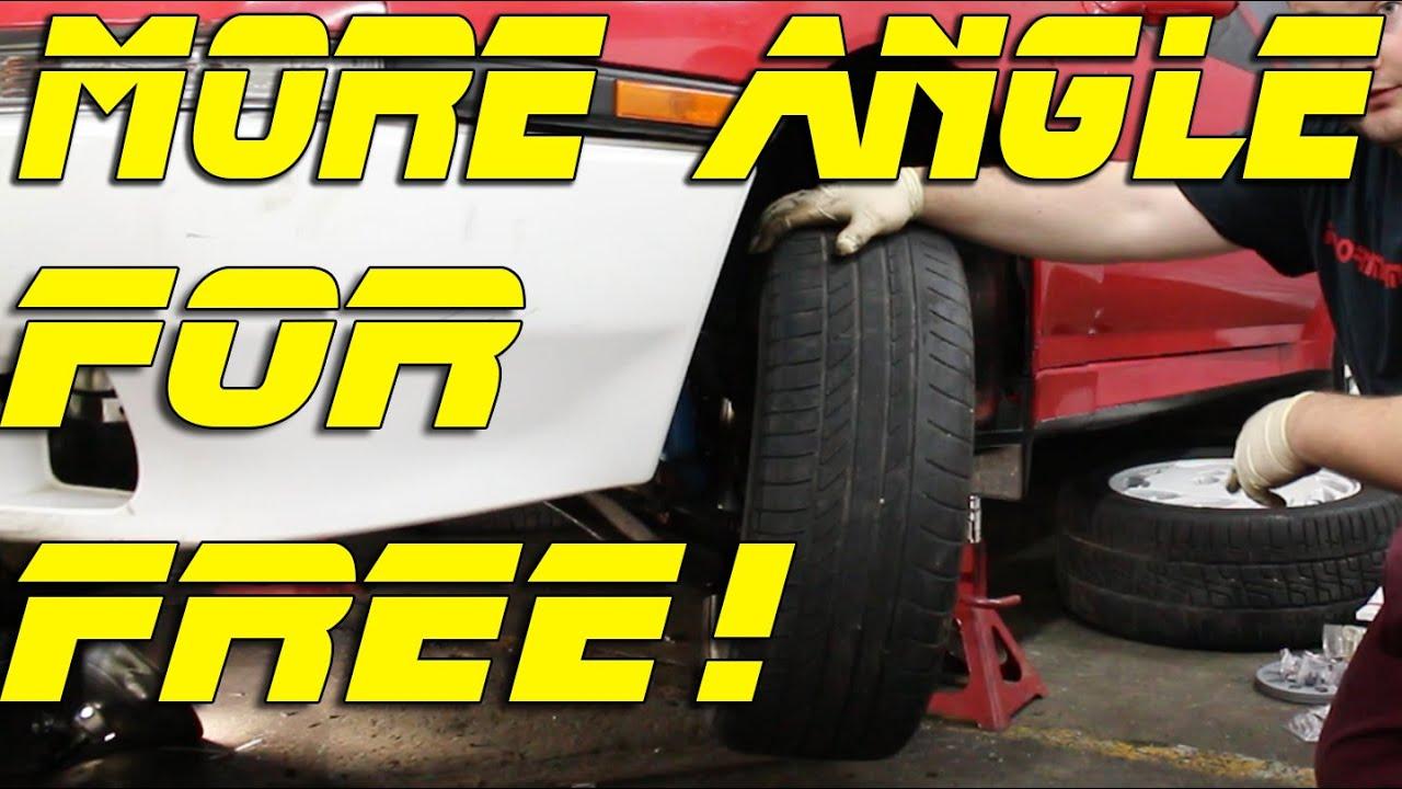 Increasing Steering Angle | Steering Knuckle Mod Drift Missile Build Pt 11