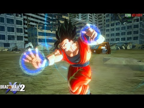 Gokhan with his New Supers & Ultimate Skill Pack! Dragon Ball Xenoverse 2 MOD |