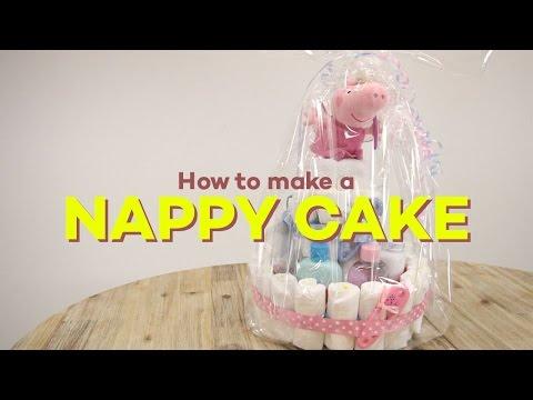 How To Make Nappy Cake