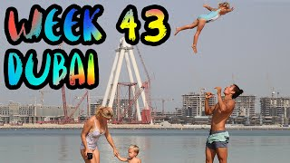 ON TOP The TALLEST Building In The World - The Burj Khalifa!! and more.. /// WEEK 43 : Dubai