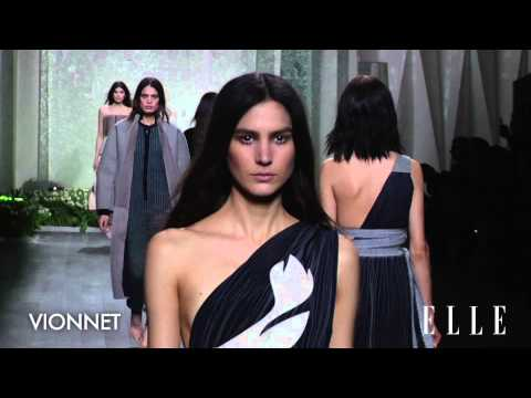 Défilé Vionnet Automne-Hiver 2014-2015