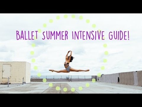 Ballet Summer Intensive Guide! | Alison Stroming