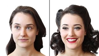Girls Transform Into Pinups