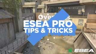 CS: GO Pro Tips & Tricks - de_overpass Effective Terrorist Side Smoke Grenades & Molotov - DAVEY