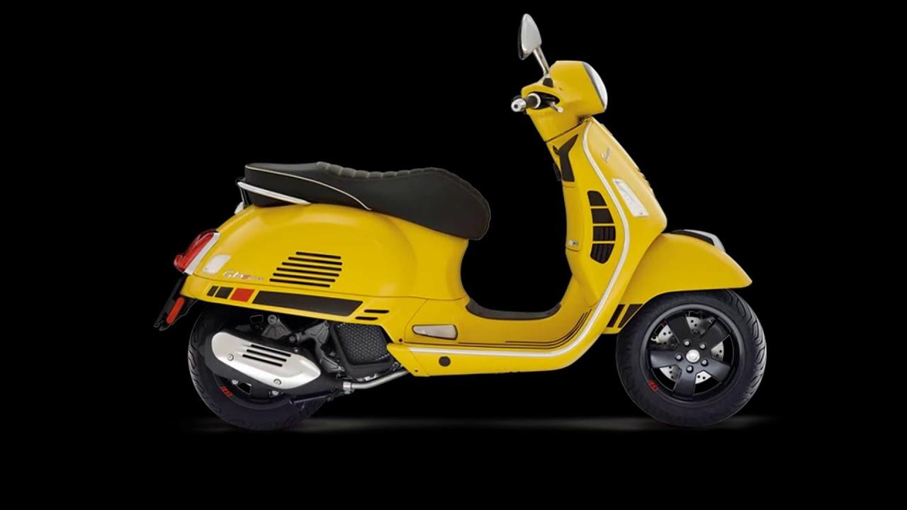 the scooter 2018 vespa gts 300 super sport abs youtube. Black Bedroom Furniture Sets. Home Design Ideas