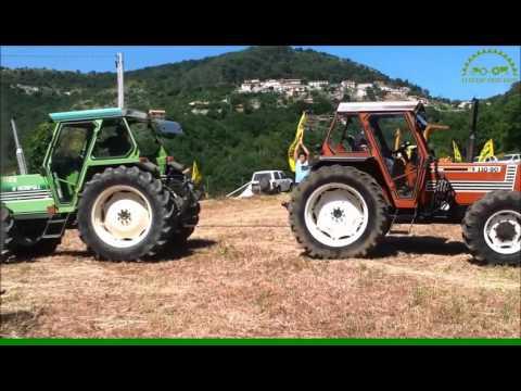 FIAT vs ... (video 1) tractor-test.com