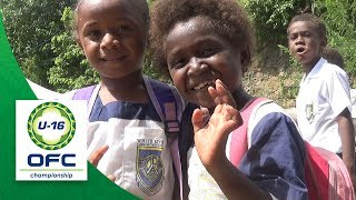 New Zealand and Solomon's boys school visit