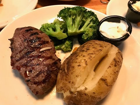 What I Ate On Weight Watchers Freestyle | Applebee's Steak & Potato!