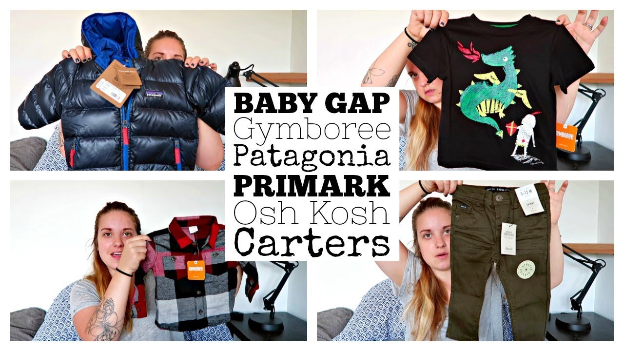 6c5a53247 BABY BOY FALL CLOTHING HAUL! || 12-18 MONTHS || OUR FAVORITE BRANDS!