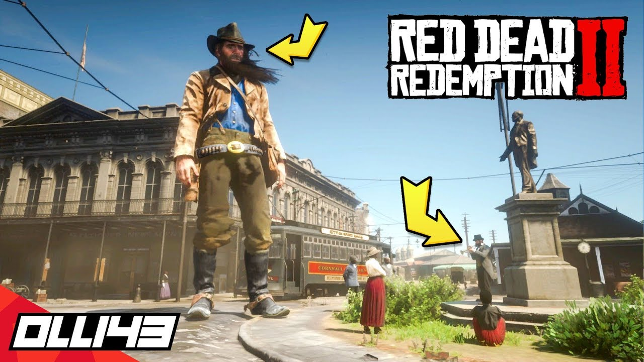 Arthur Morgan Growing 20x Bigger (Red Dead Redemption 2 Mods)