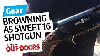 Browning A5 Sweet 16 semi shotgun