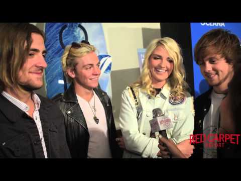 R5 at the 3rd Annual Nautica Oceana Beach House Party #NauticaOceanaBeachHouse