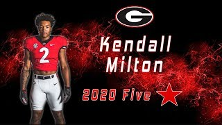 Kendall Milton | 5 Star RB Class Of 2020 | UGA Commit