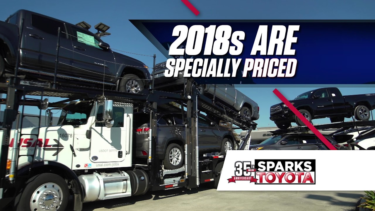 Sparks toyota 2017 model selldown buy now youtube