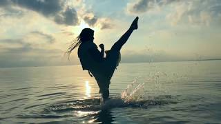 Epic Sunrise Work out - Martial Arts & Dance - SLOW MO