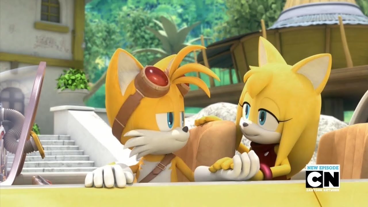 And tails Sonic kiss female