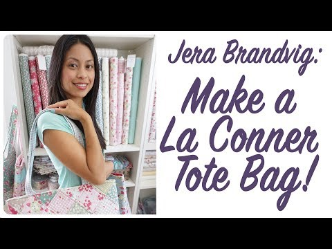 How to Make a La Conner Tote by Jera Brandvig for Lecien Fabrics