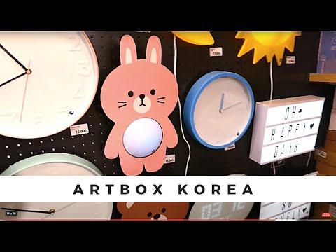 Korea Vlog: 💗Best Artbox Store in the World! 🎁 Myeongdong in Seoul Korea