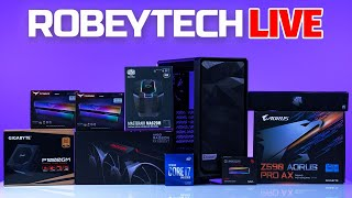 How to Build a PĊ - Giveaways + Fractal Meshify 2 Compact Build and Case Review (10700 K / 6900XT)