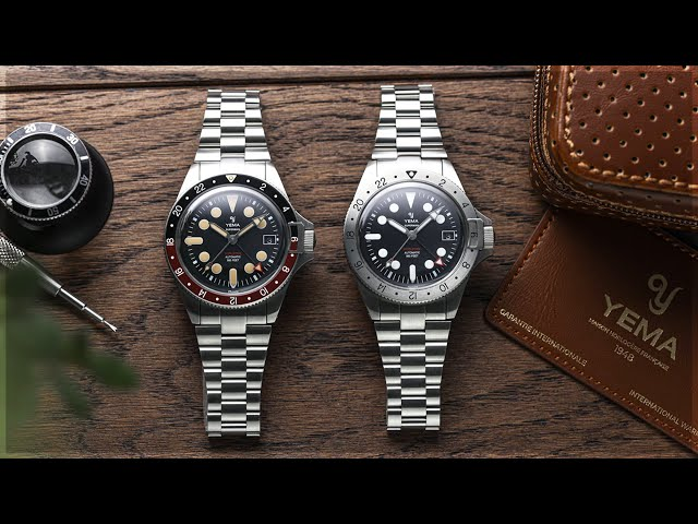 You NEED To Check Out These GMT Watches | The Yema Superman Worldtime GMT