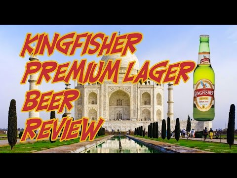 Kingfisher Premium Lager Beer Review