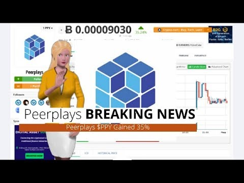 Peerplays $PPY Climbed 35% Over the Past 24 Hours 12