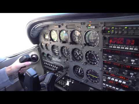 Flight to Monterey - Part 1 : Take off from KCCR