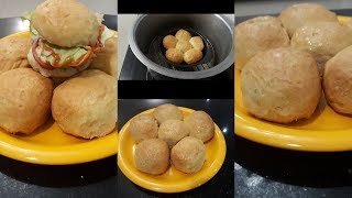 Homemade buns/pav bread || eggless || without oven || on stove || in urdu and hindi || FFC