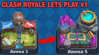 ARENA 3 TO ARENA 5 IN 1 STREAM ~ PUSHING LIVE ~ Clash Royale Let